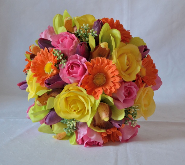 Silk wedding bouquets online australia mightylinksfo